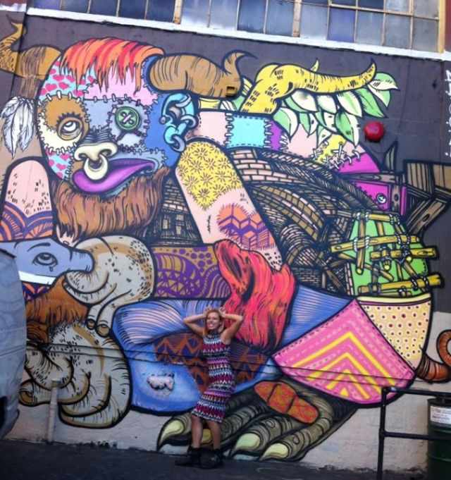 Last October before 5pointz was no more :(